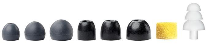 auriculares shure, almohadillas