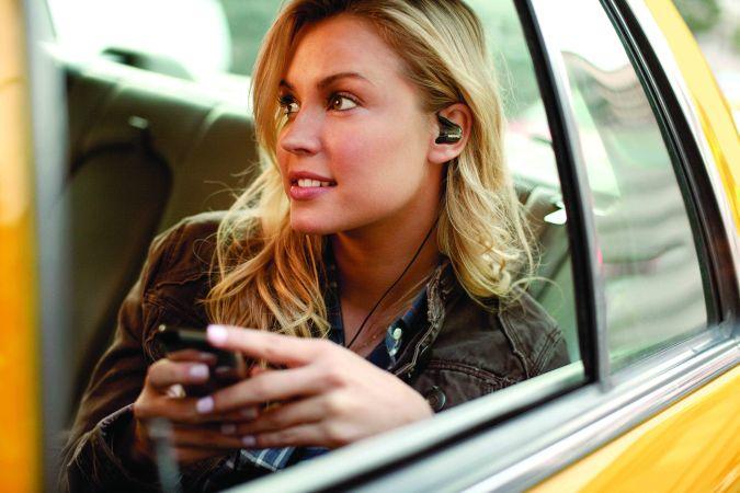shure, auriculares, taxi, musica